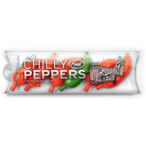 Fred and Friends Chilly Peppers Ice Cubes