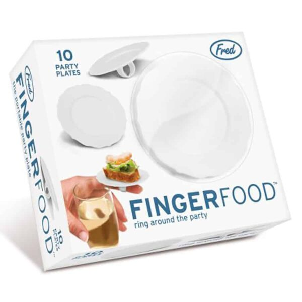 Fred and Friends Finger Food Plate Ring