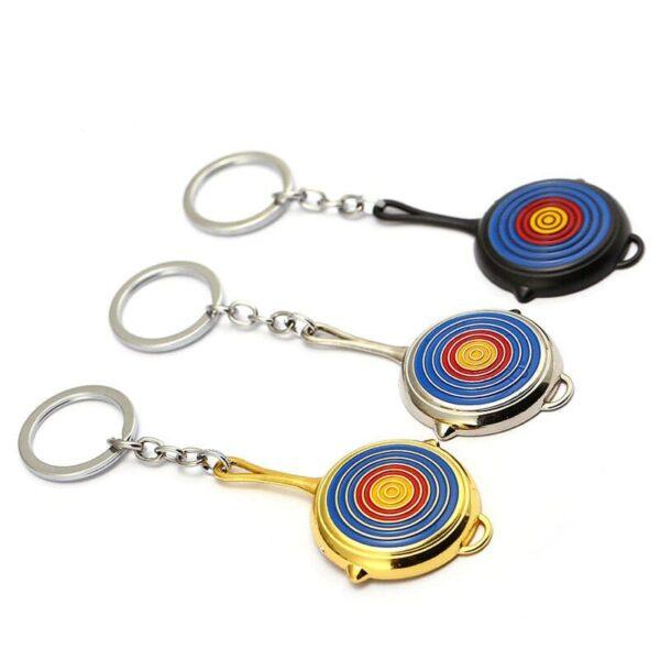 PUBG Bullseye Pan Keychain