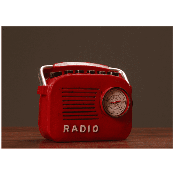Retro Radio Model Resin Hand crafted Home Classic Decoration Gift Coin Bank