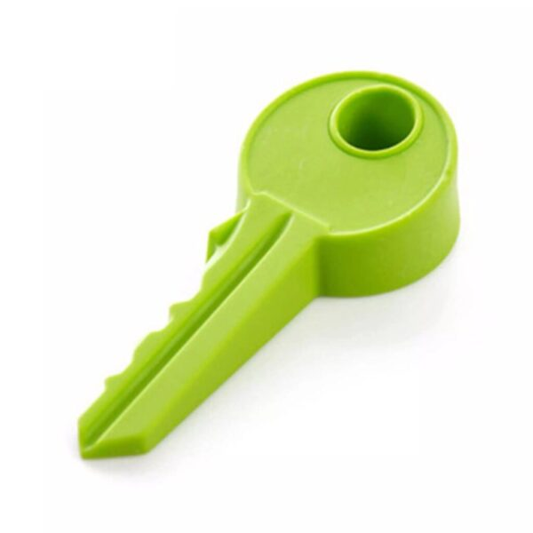 Key Door Stopper Finger Protector Silicone Key Style Doorstop Secure Flexible - Pack Of 2