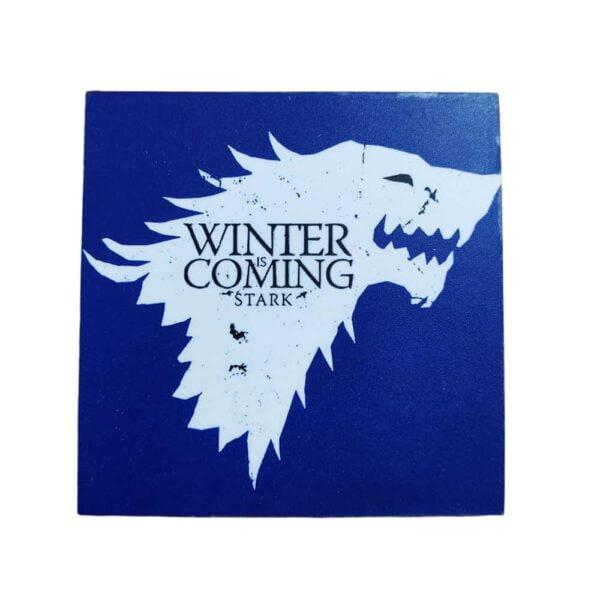 Game Of Thrones Stark Wooden Coaster