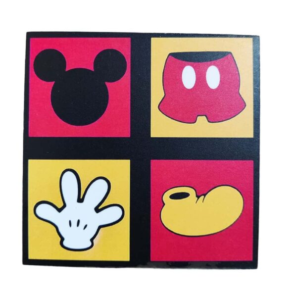Mickey Mouse Wooden Coaster