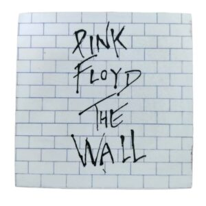 Pink Floyd The Wall Wooden Coaster