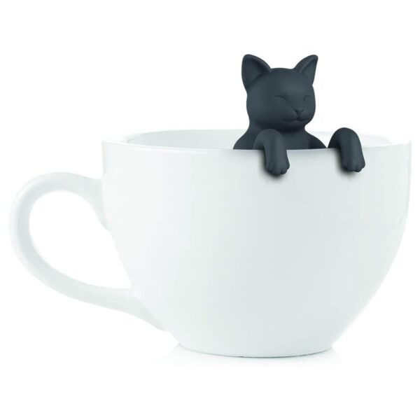 PurrTea Cat Silicone Tea Infuser - Herbal Drinks Cute Cat