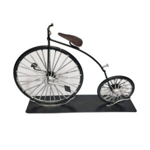 Retro Vintage Hand Crafted High Wheel Bicycle Bike Model