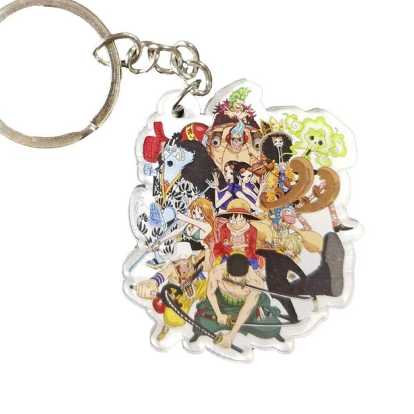One Piece Characters Keychain