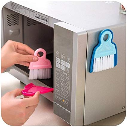 Dust Pan and Broom with Magnet for Microwave, Keyboard, Refrigerator Cleaner
