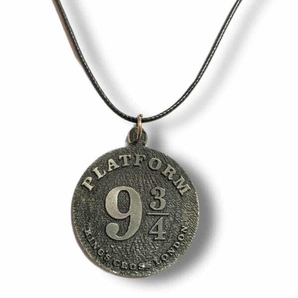 Harry Potter Platform Logo Pendant Metal Necklace