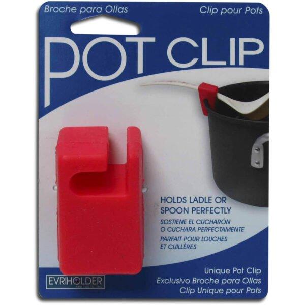Pot Clip Ladle Holder - Random Color