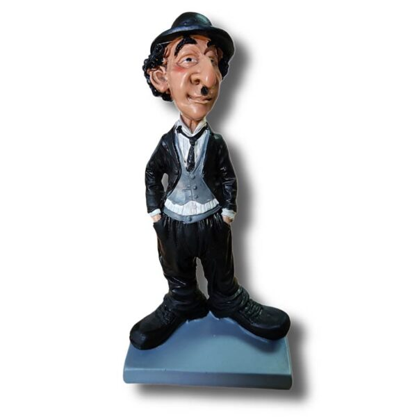 Charlie Chaplin Resin Statue Figurine