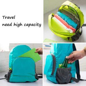 Foldable Backpack Student Outdoor Hiking Waterproof Bag