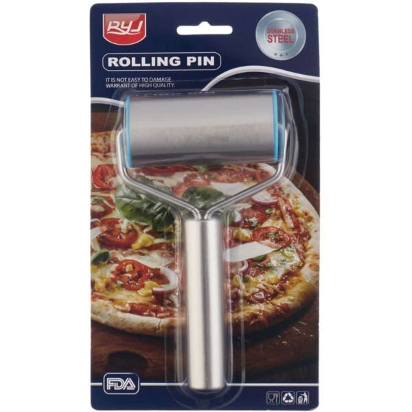 Stainless Steel Hand Rolling Pin