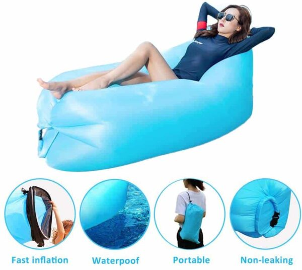 Ultralight Self-Inflating Air Lounger Sofa