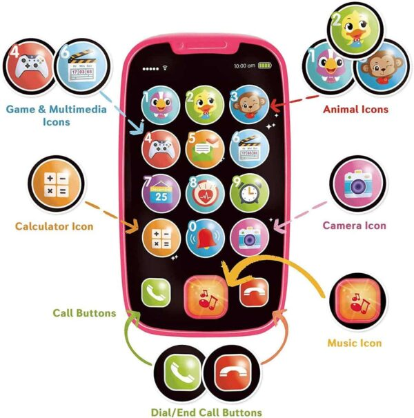 HOLA Baby Smart Cell Phone Toy
