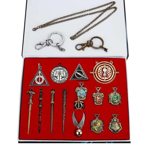 Harry Potter Necklace Set 15 pcs