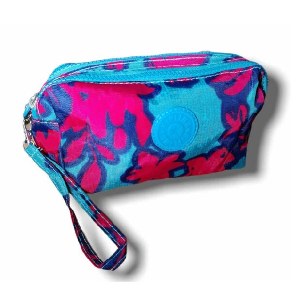 Kipling Double Zip Pouch with Strap