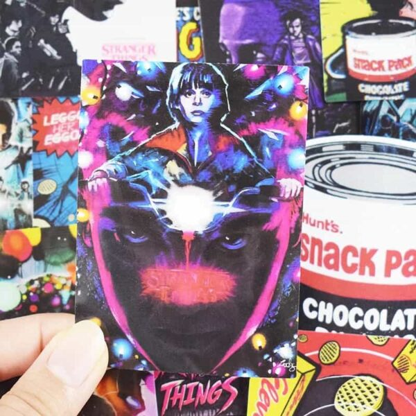 Stranger Things Value Stickers Pack