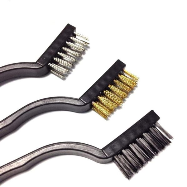 3Pcs Wire Clean Brush Set for Home