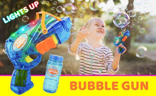 Bubble Machine gun for kids