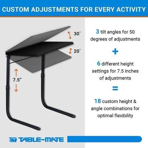 Table Mate II Folding TV Tray Table