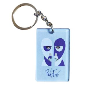 Pink Floyd Division Bell Keychain