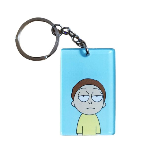 Rick And Morty - Morty Keychain