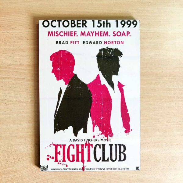 Fight Club Wooden Wall Poster