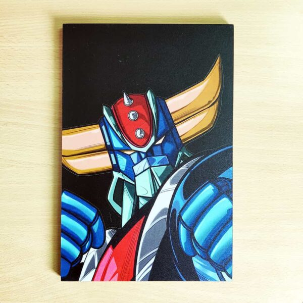 Grendizer Wooden Wall Poster