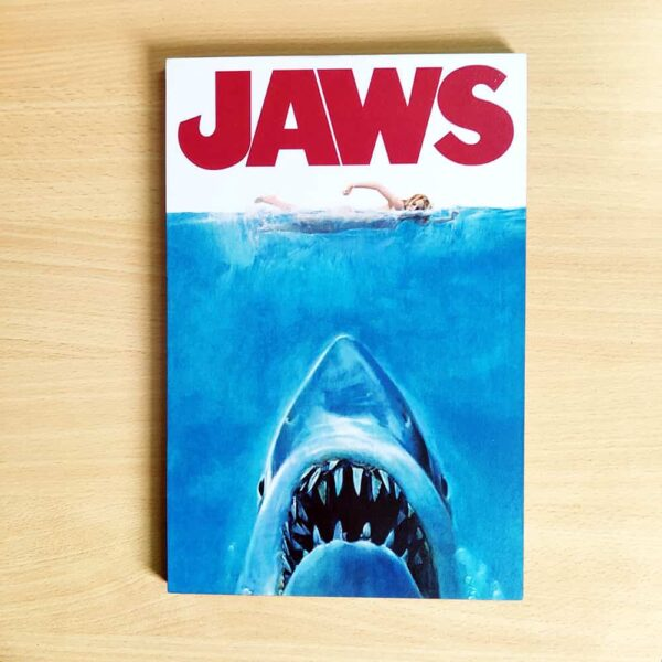 Jaws Wooden Wall Poster