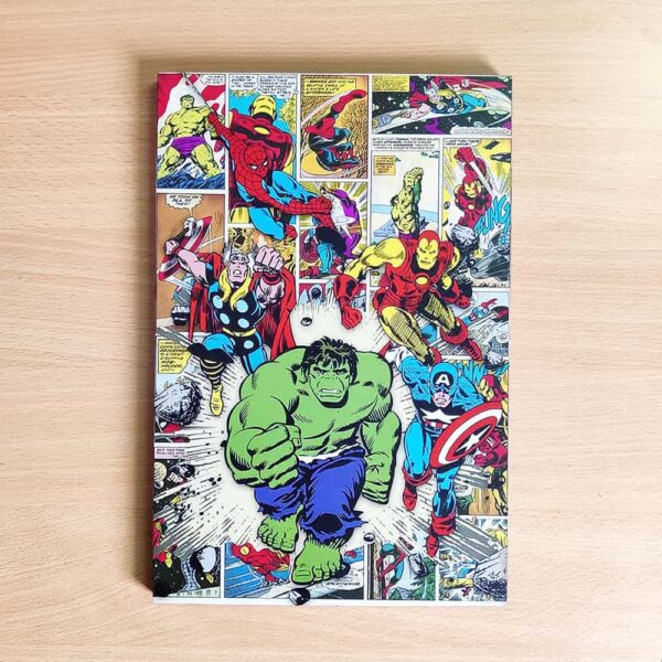 Marvel Wooden Wall Poster