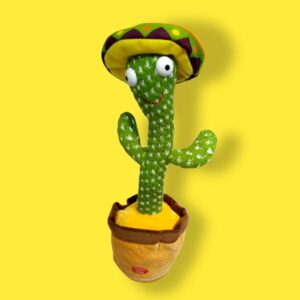 Talking Dancing Cactus Toy, Recording Cactus Singing Cactus Toy Mexican Rechargeable
