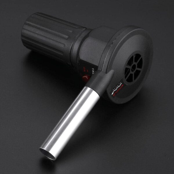 Portable Battery Powered BBQ Fan Air Blower for Outdoor Camping Picnic Charcoal Grill Barbecue