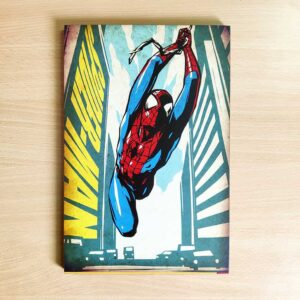 Spider Man Wooden Wall Poster