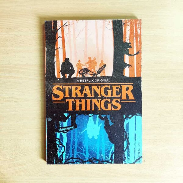 Stranger Things Wooden Wall Poster