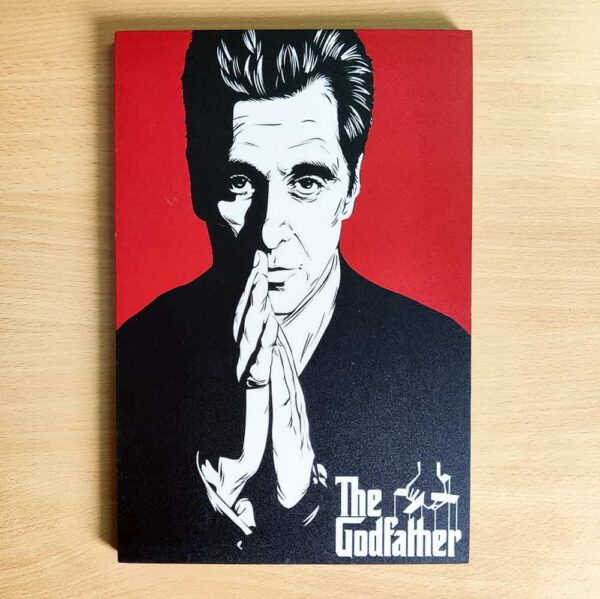 The GodFather Wooden Wall Poster