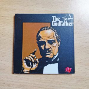 The Godfather Wooden Coaster