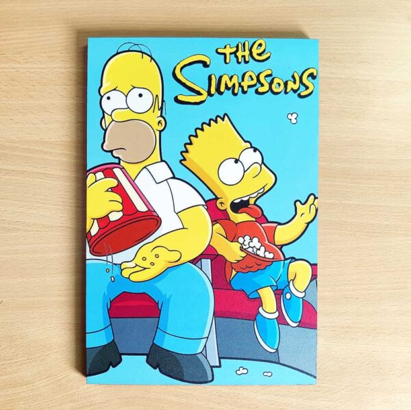 The Simpsons Wooden Wall Poster