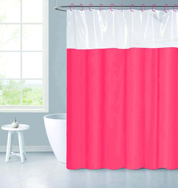 Top Clear Shower Curtain